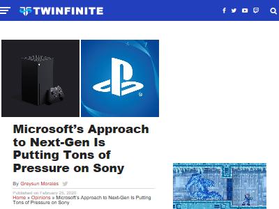 ソニー マイクロソフト PS5 XboxSXに関連した画像-02