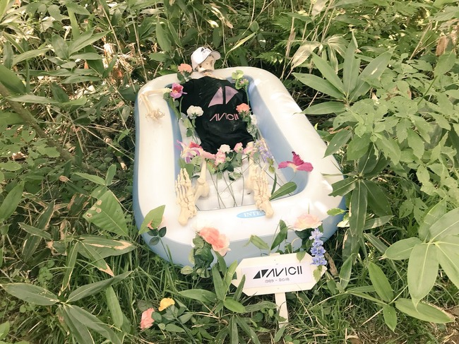 フジロック 追悼アート 批判殺到に関連した画像-04