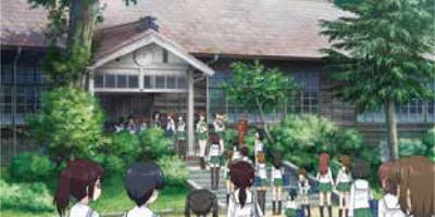 旧上岡小学校 ガルパン 聖地 マナー コスプレ 禁止に関連した画像-01