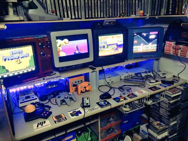ゲーマー ゲーム部屋 クローゼット 秘密基地に関連した画像-04