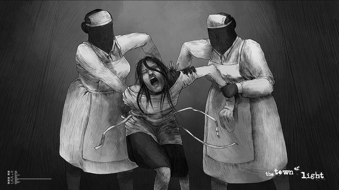 スリラー 精神病院 TheTownofLight Steamに関連した画像-05