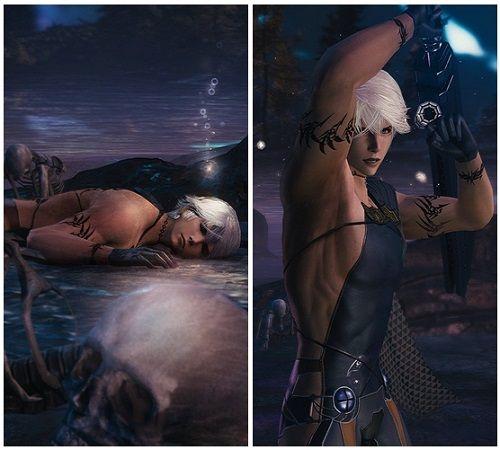 ファイナルファンタジー メビウス 画像 衣装 裸エプロンに関連した画像-03