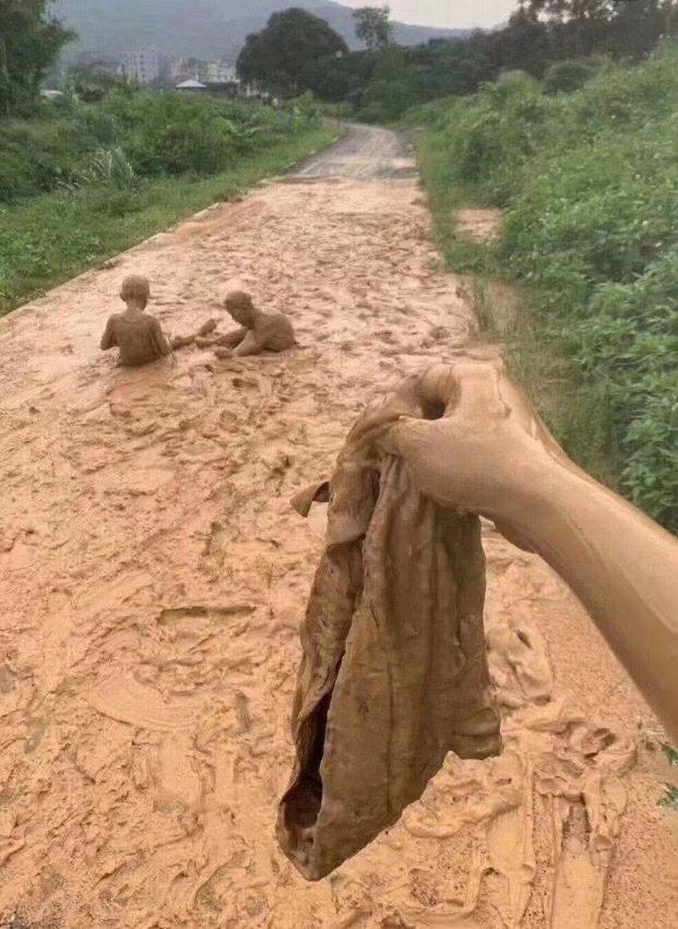 泥遊び 想像以上 泥だらけに関連した画像-02