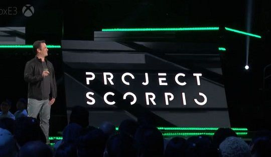 Xbox スコーピオ Scorpio フィル・スペンサー マイクロソフトに関連した画像-01