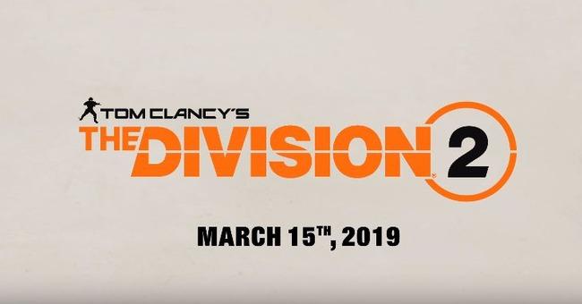 E3 2018 ディヴィジョン2 DIVISION2に関連した画像-01