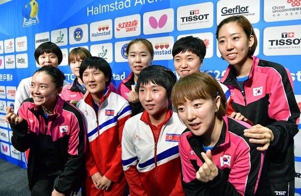 世界卓球 北朝鮮 韓国に関連した画像-01