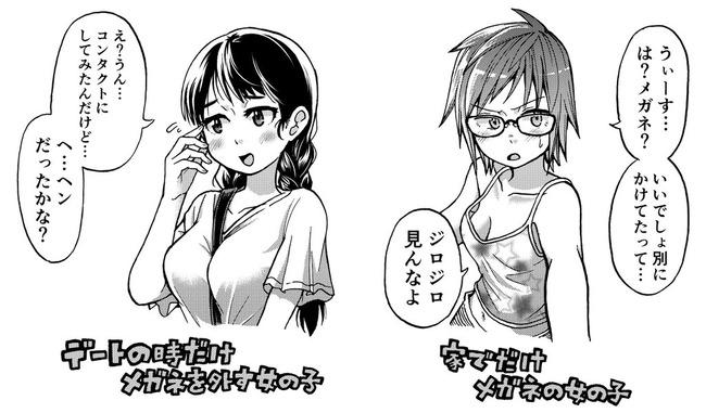 メガネ ギャップ 安藤正基 漫画家に関連した画像-02