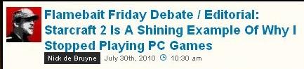 PCでゲームすんのやめた