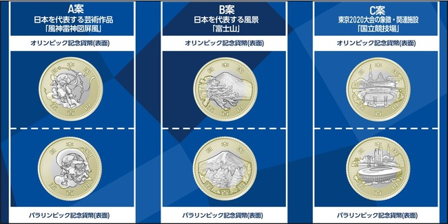 東京五輪 記念貨幣 投票 ツイッター アンケートに関連した画像-01