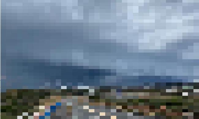 静岡県 アーチ雲 雷雨 低気圧 天気に関連した画像-01