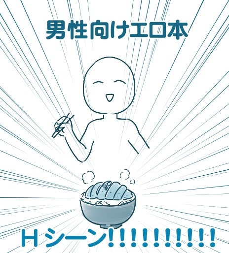エロ漫画 男性用 女性用 特徴 違いに関連した画像-03