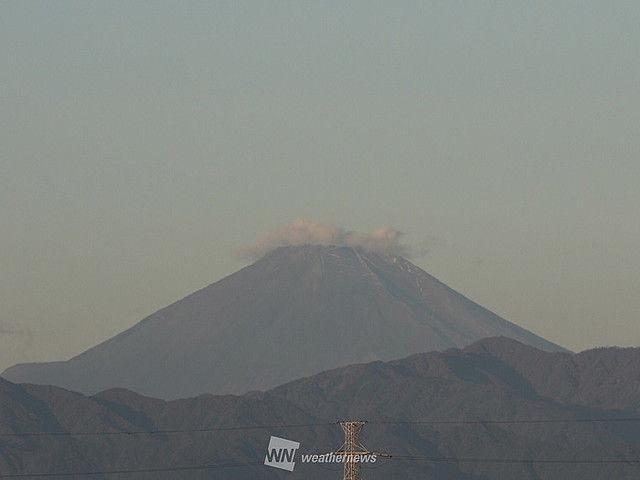 富士山 トレードマーク 白帽子 雪 台風22号 消滅に関連した画像-04