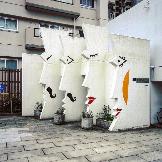 日本 公衆トイレ 多彩に関連した画像-03