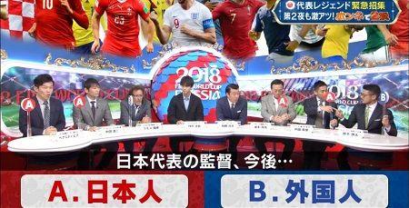 日本代表 ワールドカップ W杯 ラモス 監督 日本人 外国人に関連した画像-01