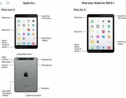 アップル iPadAir2 iPadmini3に関連した画像-01