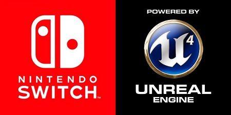 アンリアルエンジン4が『ニンテンドースイッチ』に正式対応!神ゲーが続々集まってきちゃうううううううううう!!