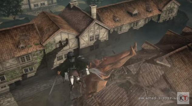 進撃の巨人 PS4 ゲーム PVに関連した画像-11