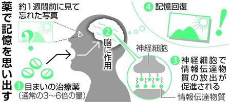 記憶 回復 薬 世界初 認知症 治療に関連した画像-03
