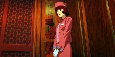 エレベーター ボタン 近く マナー 男女 会釈 礼に関連した画像-01