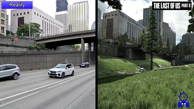 ラストオブアス2 シアトル 比較動画に関連した画像-07
