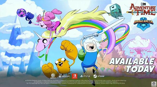 E3 ユービーアイソフト カンファレンス2019 Brawlhalla アドベンチャー・タイムに関連した画像-02