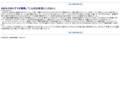 北海道 ヒグマ 400キロに関連した画像-04