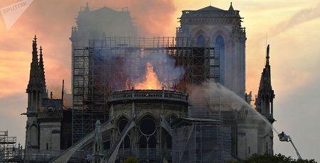 ノートルダム大聖堂 火災 パリ アベマリア 合唱 映像に関連した画像-01