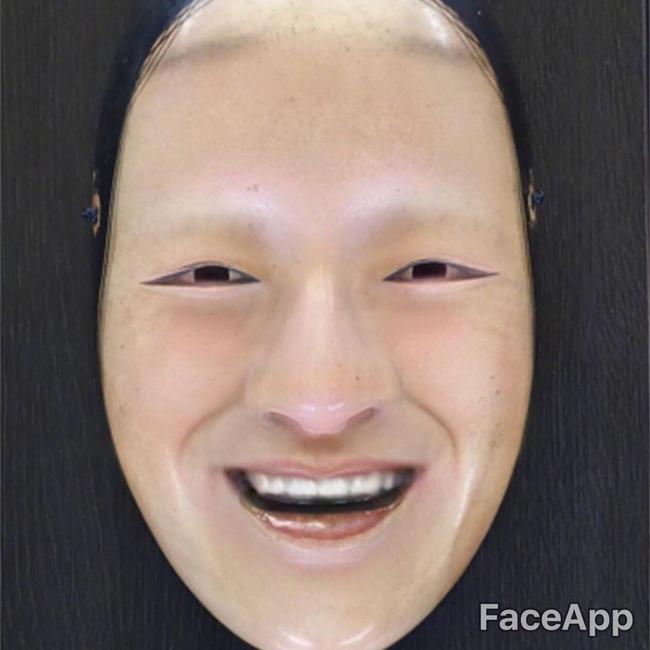顔写真 絵 強制的 笑顔 アプリ FaceApp プーチン大統領 スネイプ リヴァイ兵長 スネークに関連した画像-11