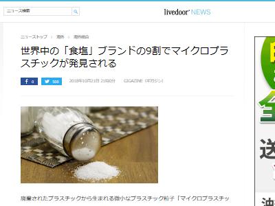 食塩 マイクロ プラスチックに関連した画像-02