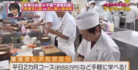 すし職人 炎上 髪 寿司 食品衛生に関連した画像-01