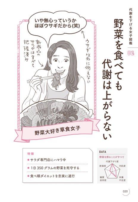 オトナ女子のための食べ方図鑑 ダイエットに関連した画像-02
