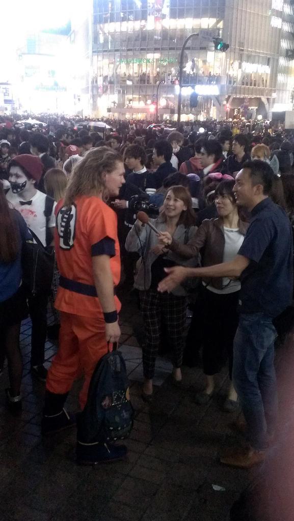 渋谷 怪盗キッド ハロウィンに関連した画像-09