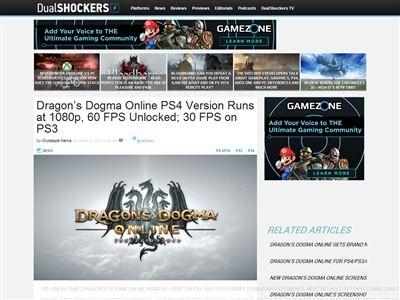 ドラゴンズドグマ FPS に関連した画像-02