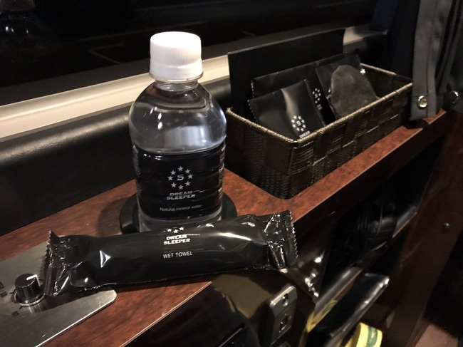 夜行バス 高級 完全個室 ホテル アメニティ プラズマクラスター 座席 パウダールームに関連した画像-04