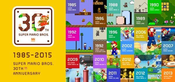 スーパーマリオブラザーズ マリオ 任天堂 30周年に関連した画像-01