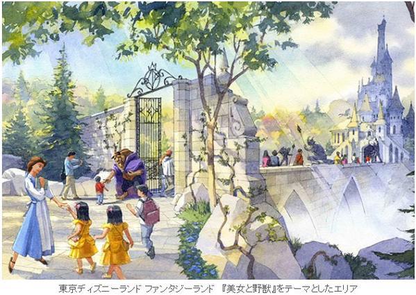 東京ディズニーランド 東京ディズニーシー 東京ディズニーリゾート アナ雪 美女と野獣に関連した画像-03