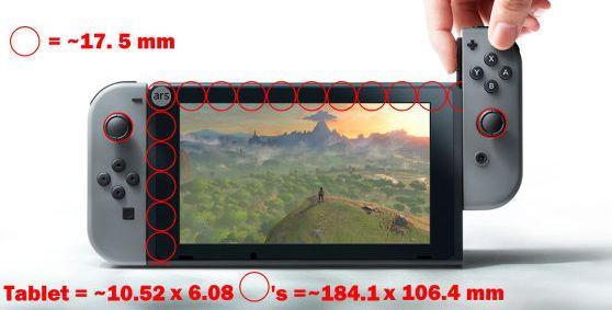 ニンテンドースイッチ サイズ 大きさに関連した画像-04