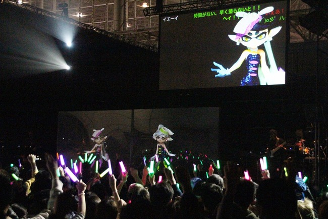 スプラトゥーン シオカラーズ アイドル 闘会議 シオカライブ2016に関連した画像-04