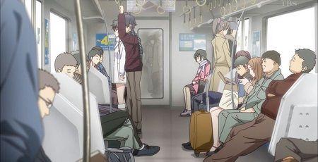 電車に乗ってる男性と女性の座り方の差が酷すぎ・・・これ見ても女性専用車両ずるいとか言えんの?