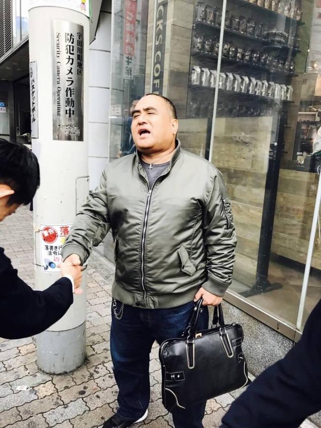 性の喜びおじさん 渋谷 記念撮影に関連した画像-07