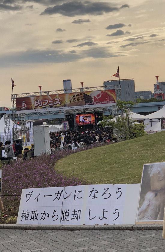ヴィーガン 絶対菜食主義者 お台場 肉フェスに関連した画像,04