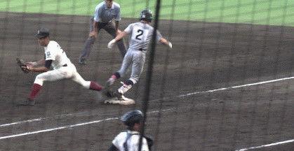 甲子園 大阪桐蔭 仙台育英 逆転 ラフプレー ファースト 一塁手に関連した画像-03