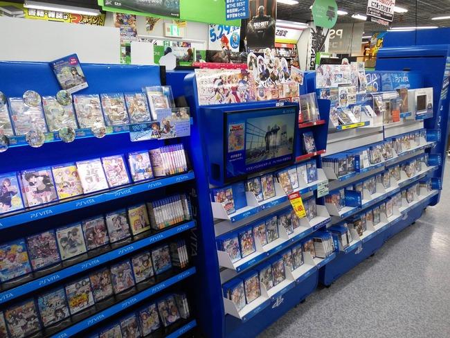 PSVita 売れてない 海外 外国人 日本 ゲーム売り場 扱いに関連した画像-03