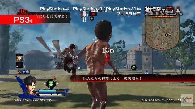 進撃の巨人 PSVita版 PS3版 グラフィックに関連した画像-11