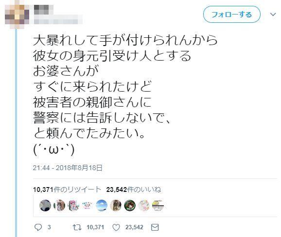 精神科医 精神病 母親 誘拐 ツイッター 嘘松 デマに関連した画像-09