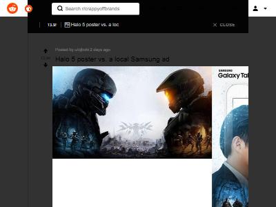 サムスン 宣伝 広告 Halo5 パクリ 盗用 比較 画像に関連した画像-02