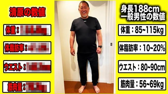 清原和博 体重 138kg 衝撃 ダイエットに関連した画像-01