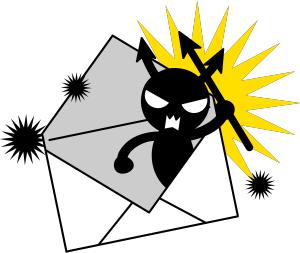 新年の挨拶 迷惑メール ウイルスに関連した画像-01