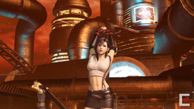 FF7 ティファ リメイク ディシディアファイナルファンタジー デザイン 露出 規制 PS4に関連した画像-12