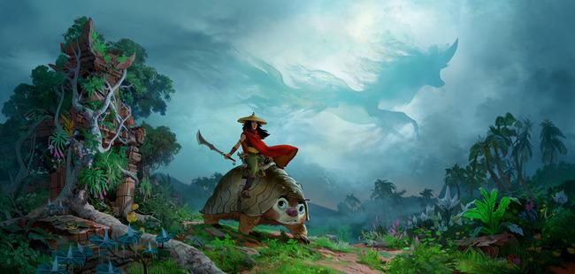 ディズニー ラーヤと龍の王国 ジブリ パクリに関連した画像-04